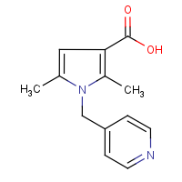 CAS:306936-15-2 | OR0416 | 2,5-Dimethyl-1-[(pyridin-4-yl)methyl]-1H-pyrrole-3-carboxylic acid