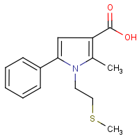 CAS:959583-25-6 | OR0632 | 2-Methyl-1-(2-methylthioethyl)-5-phenylpyrrole-3-carboxylic acid