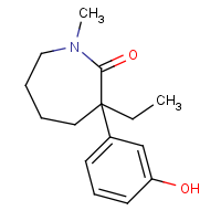 CAS:71556-74-6 | OR110002 | 3-Ethyl-3-(3-hydroxyphenyl)-1-methylazepan-2-one