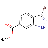 CAS:192945-56-5 | OR110044 | Methyl 3-bromo-1H-indazole-6-carboxylate