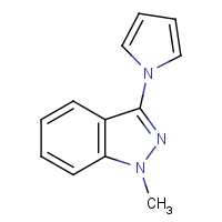CAS: 1427460-30-7 | OR110157 | 1-Methyl-3-(1H-pyrrol-1-yl)-1H-indazole