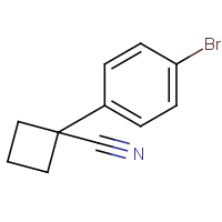 CAS:485828-58-8 | OR110546 | 1-(4-Bromophenyl)cyclobutane-1-carbonitrile