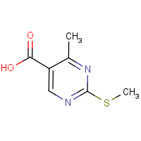 CAS:98276-75-6 | OR12144 | 4-Methyl-2-(methylthio)pyrimidine-5-carboxylic acid