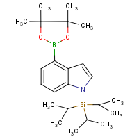CAS:690632-17-8 | OR14244 | 1-Tris(isopropylsilyl)-1H-indole-4-boronic acid, pinacol ester