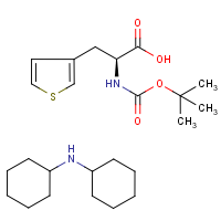 CAS: 83825-42-7 | OR14646 | 3-Thien-3-yl-L-alanine, N-BOC protected dicylohexylamine salt