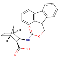 CAS: 352707-75-6 | OR2228 | 3-exo-Aminobicyclo[2.2.1]heptane-2-exo-carboxylic acid, N-FMOC protected