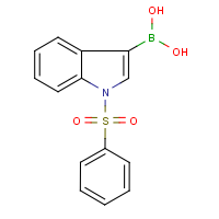 CAS: 129271-98-3 | OR23047 | 1-(Phenylsulphonyl)-1H-indole-3-boronic acid