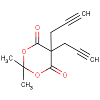 CAS:145544-03-2 | OR23998 | 2,2-dimethyl-5,5-diprop-2-ynyl-1,3-dioxane-4,6-dione
