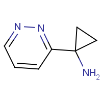 CAS: 1159878-08-6 | OR302663 | 1-(Pyridazin-3-yl)cyclopropanamine