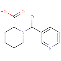 OR303228 | CAS: 67691-59-2 | Name: 1-(Pyridine-3-carbonyl)piperidine-2-carboxylic acid