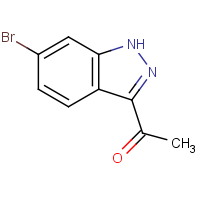 CAS: 1220039-77-9 | OR305611 | 1-(6-Bromo-1H-indazol-3-yl)ethanone