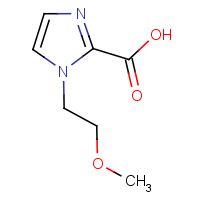 CAS: 1439897-83-2 | OR306022 | 1-(2-Methoxyethyl)-1H-imidazole-2-carboxylic acid