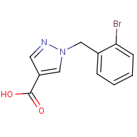CAS: 1154881-71-6 | OR306152 | 1-(2-Bromobenzyl)-1H-pyrazole-4-carboxylic acid