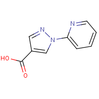 CAS: 77556-50-4 | OR306275 | 1-(Pyridin-2-yl)-1H-pyrazole-4-carboxylic acid