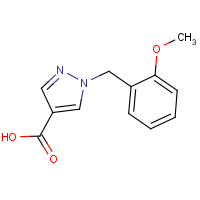 CAS:  | OR306278 | 1-[(2-Methoxyphenyl)methyl]-1H-pyrazole-4-carboxylic acid
