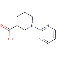 CAS: 890013-40-8 | OR306405 | 1-(Pyrimidin-2-yl)piperidine-3-carboxylic acid