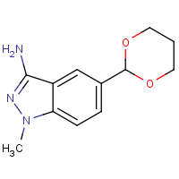 CAS:1373350-39-0 | OR310006 | 5-(1,3-Dioxan-2-yl)-1-methyl-1H-indazol-3-amine