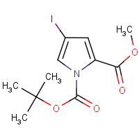 OR310028 | CAS: 170100-69-3 | Name: 1-tert-Butyl 2-methyl 4-iodo-1H-pyrrole-1,2-dicarboxylate