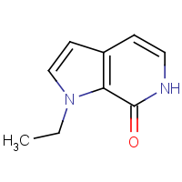 CAS: 1340902-81-9 | OR310677 | 1-Ethyl-1,6-dihydro-7H-pyrrolo[2,3-c]pyridin-7-one