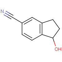 CAS: 125114-88-7 | OR310922 | 1-Hydroxy-2,3-dihydro-1H-indene-5-carbonitrile
