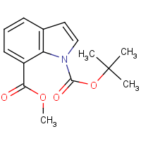 CAS: 917562-23-3 | OR3492 | 1-tert-Butyl 7-methyl 1H-indole-1,7-dicarboxylate