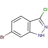 CAS: 885271-78-3 | OR43556 | 6-Bromo-3-chloro-1H-indazole