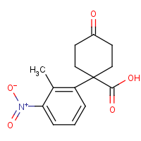 CAS: 1385694-57-4 | OR470536 | 1-(2-Methyl-3-nitrophenyl)-4-oxocyclohexanecarboxylic acid