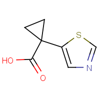 CAS: 1509873-24-8 | OR480112 | 1-Thiazol-5-ylcyclopropanecarboxylic acid