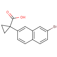CAS: 1785488-91-6 | OR480150 | 1-(7-Bromonaphthalen-2-yl)cyclopropane-1-carboxylic acid