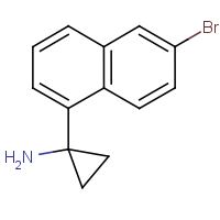 CAS: 1782314-61-7 | OR480167 | 1-(6-Bromonaphthalen-1-yl)cyclopropan-1-amine