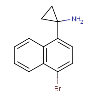 CAS:  | OR480169 | 1-(4-Bromonaphthalen-1-yl)cyclopropan-1-amine