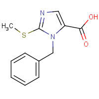 CAS: 403479-30-1 | OR60098 | 1-Benzyl-2-(methylthio)-1H-imidazole-5-carboxylic acid