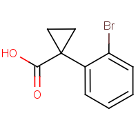 CAS: 124276-87-5 | OR61220 | 1-(2-Bromophenyl)cyclopropane-1-carboxylic acid