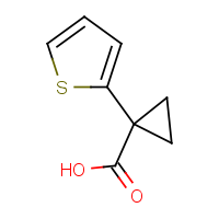 CAS: 162959-94-6 | OR950102 | 1-(Thiophen-2-yl)cyclopropanecarboxylic acid