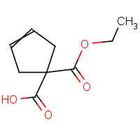 CAS: 76910-08-2 | OR965675 | 1-(Ethoxycarbonyl)-3-cyclopentene-1-carboxylic acid