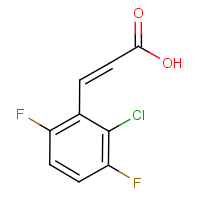CAS:261762-48-5 | PC0010 | 2-Chloro-3,6-difluorocinnamic acid