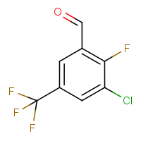 CAS:261763-02-4 | PC0144 | 3-Chloro-2-fluoro-5-(trifluoromethyl)benzaldehyde