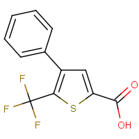 CAS:208108-76-3 | PC0956 | 4-Phenyl-5-(trifluoromethyl)thiophene-2-carboxylic acid
