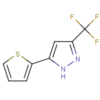 CAS:128228-96-6 | PC10151 | 5-(Thien-2-yl)-3-(trifluoromethyl)-1H-pyrazole