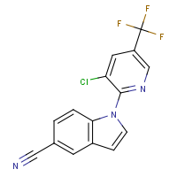 CAS: 151387-94-9 | PC300998 | 1-[3-Chloro-5-(trifluoromethyl)pyridin-2-yl]-1H-indole-5-carbonitrile