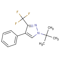 CAS: 256414-73-0 | PC32337 | 1-(tert-Butyl)-4-phenyl-3-(trifluoromethyl)-1H-pyrazole