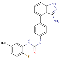 CAS: 796967-16-3 | PC402063 | 1-[4-(3-Amino-1H-indazol-4-yl)phenyl]-3-(2-fluoro-5-methylphenyl)urea