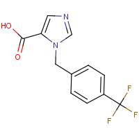 CAS:  | PC403004 | 1-[4-(Trifluoromethyl)benzyl]-1H-imidazole-5-carboxylic acid