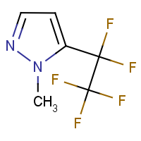 CAS: 1823245-88-0 | PC408804 | 1-Methyl-5-(pentafluoroethyl)-1H-pyrazole