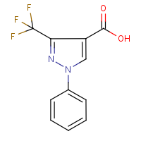 CAS: 142818-01-7 | PC446065 | 1-Phenyl-3-trifluoromethyl-1H-pyrazole-4-carboxylic acid