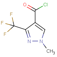 CAS: 126674-98-4 | PC446118 | 1-Methyl-3-(trifluoromethyl)-1H-pyrazole-4-carbonyl chloride