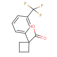 CAS: 151157-58-3 | PC449018 | 1-[3-(Trifluoromethyl)phenyl]-cyclobutanecarboxylic acid