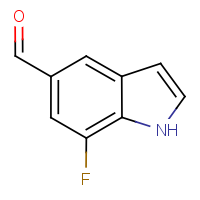 CAS: 424834-59-3 | PC6203 | 7-Fluoro-1H-indole-5-carboxaldehyde