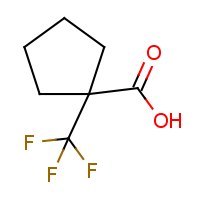 CAS: 277756-44-2 | PC906373 | 1-(Trifluoromethyl)cyclopentane-1-carboxylic acid